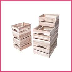 復古組合堆疊木箱