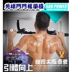 【咪多樂】<簡易版>🇹🇼台灣製門上單槓 門框單槓 多功能健身 室內單槓 伏地挺身 仰臥起坐