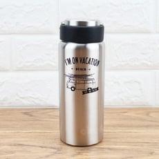 LINOX316不鏽鋼陶瓷保溫杯500ml保溫保冷瓶附洗杯刷-大廚師百貨