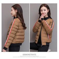 冬季帥氣素色棉外套(3色)