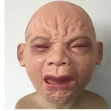 哭棄嬰兒面具、嬰兒面具、搞怪面具