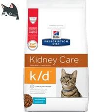 希爾思 Hills 貓 k/d  腎臟處方 含海魚貓飼料(4磅)10375