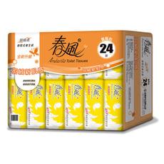 【春風】超細柔抽取式衛生紙 110抽*24包*3串/箱
