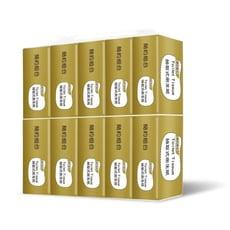 【簡約組合】優質抽取式衛生紙150抽x10包x8串/箱-奢華金