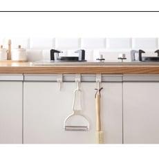 多功能廚房水槽廚櫃門後掛勾 一組二入