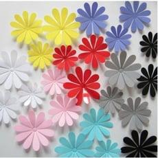 壁紙 壁貼 牆紙沙發歐式3d立體客廳臥室冰箱仿真自粘房間裝飾品小花朵墻貼紙創意