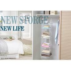 創意折疊衣櫃小二大二層收納架衣物整理架寢室宿舍儲物架置物架