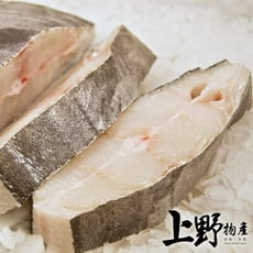 【上野物產】格陵蘭新鮮捕撈 大比目魚中段 (100g土10%/片)