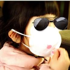 【預購】下單後兩天出貨 日本空運進口  羊咩咩立體口罩 兒童/女生用 口罩(1片)
