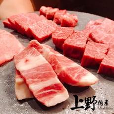 【上野物產】美國產 原肉現切 NG不規則形狀 福利包牛肉 ( 500g土10%/包 )