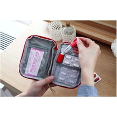 旅行便攜隨身急救包 藥品收納包 衛生棉包 衛生紙包 隨身藥盒 藥包 小包包 急救包