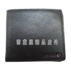 ~雪黛屋~MoDo 短夾專櫃男仕短型皮夾100%進口牛皮革材質標準尺寸固定型證件夾BMD036340