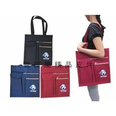 提袋大容量才藝袋可放A4資手提袋簡單袋上學書包外置教具品雨衣傘便當袋台灣製