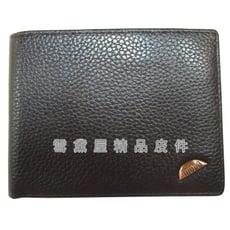 ~雪黛屋~MODO 短夾專櫃男仕短型皮夾100%進口牛皮革材質標準尺寸活動型證件夾BMD021123
