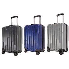 18吋行李箱可廉航ABS材質固定密鎖硬殼箱360度旋轉耐摔磨損檢測通過箱體