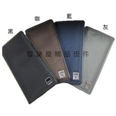 COSA 長夾二折型主袋一延伸大袋休閒中性防水尼龍布+皮革可刷洗大容量不摺鈔青少全齡適用