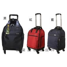 YESON 拉桿袋旅行袋可登機360度旋轉輪同18吋容量高單數防水尼龍布台灣製造精品輕量全齡