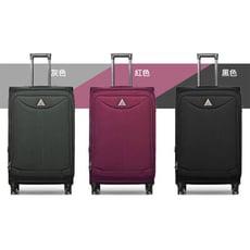 24吋行李箱超輕量商務箱耐重提把可加大容量P360度靜音萬向雙飛機旋轉耐摔撞四邊護角