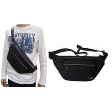 腰胸包中容量主袋+外袋共四層防水尼龍布材質隨身品包工作袋護腰加強透氣