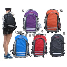 EYE後背包運動後背包28L容量附雨衣罩高單數防水尼龍布可A4資料夾前釦服貼腰部分攤重量