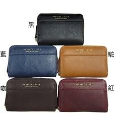 證件夾信用卡夾分類包零錢包中性款100%進口牛皮革U型拉鍊主袋內三層