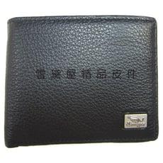 短夾專櫃男仕短夾100%進口牛皮革材質標準尺寸活動型證件夾