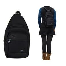 胸前後背包小容量主袋+外袋共四層單左背單右背雙後背防水尼龍布材質全齡青少均適用