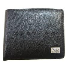 短夾專櫃男仕短夾100%進口牛皮革材質標準尺寸固定型證件夾
