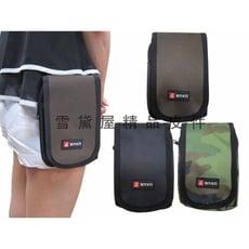 BIYATI 腰包外掛式二層主袋可5.5寸機防水尼龍布材質台灣製造隨身品包工作袋可穿過皮帶