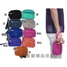 化妝包零錢包分類包手拿包多功能進口專櫃進口超輕防水尼龍布材質