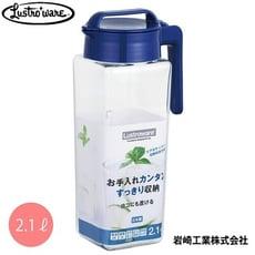 日本Lustroware 旋蓋式耐熱水壺2.1L-2入組