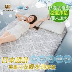 <早鳥優惠>【日本旭川】蘿菈零重力支撐舒眠水洗床墊-雙人加大(厚2.2CM)