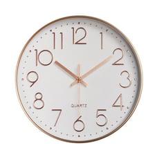 靜音掃描機芯 簡約現代壁掛時鐘 掛鐘 鐘錶 壁鐘