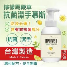 【MIT台灣製造】 BD檸檬馬鞭草抗菌潔手慕斯 洗手乳 洗手系列產品 洗手慕斯 草本 泡沫洗手 抗菌