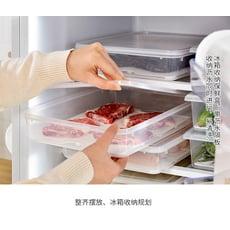冰箱收納盒 3個裝大號廚房分類瀝水保鮮盒塑膠冰箱冷藏冷凍儲藏盒食物收納