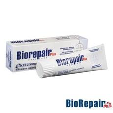 【BioRepair 貝利達】 Plus+ 牙膏75ml-亮白加強型