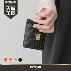 皮夾 韓國OMNIA COCO真皮女用短夾 NO.3353P