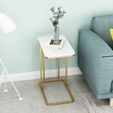 方桌 桌子 邊桌 邊幾 方幾 北歐輕奢大理石小茶幾現代簡約沙發邊櫃置物架角幾臥室床頭方桌子