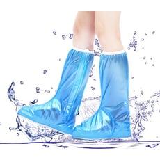 高筒隱藏式拉鍊防雨鞋套