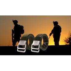 美國軍規強固型尼龍腰帶(贈口罩暫存收納夾)