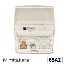 耳寶 助聽器(未滅菌) ★ Mimitakara 充電式耳內型助聽器 6SA2 [輕中度聽損適用]