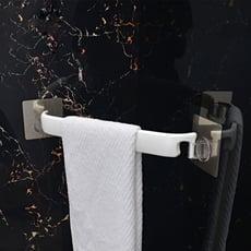 魔力無痕貼衛浴轉角毛巾架
