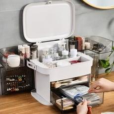 最新款化妝品首飾收納箱 化妝箱