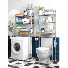 簡約不鏽鋼多功能浴室馬桶置物架/落地式馬桶架/洗衣機置物架 2款