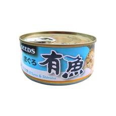 [96罐]SEEDS-有魚貓餐-鮪魚+吻仔魚170g(80040529-96