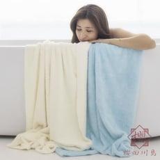 兒童嬰兒寶寶洗澡浴巾超純棉全棉吸水不掉毛成人