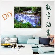 數字油畫 DIY油畫 40x50cm 客廳房間裝飾 風景人物花卉及動物款 限宅配 紓壓好物