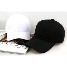鴨舌帽 棒球帽 情侶帽 帽子 遮陽帽 防曬帽 工作帽 旅遊帽 純色帽 男女通用帽