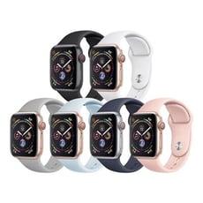 【Apple watch】運動矽膠炫彩錶帶
