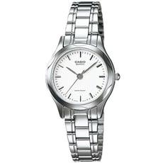 CASIO 簡約風尚暢銷女錶-白(LTP-1275D-7A)